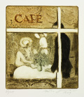 Herta Günther. Café (Blatt III)