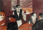 Herta Günther. Pariser Café