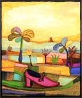 Holger Koch. Schuh im Sand