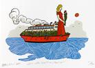Moritz Götze. Ein Rotes Schiff am Horizont