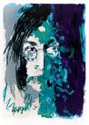 Armin Mueller-Stahl. Tribute to John Lennon grau/grün/violett