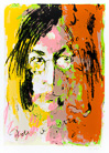 Armin Mueller-Stahl. Tribute to John Lennon orange/rosa