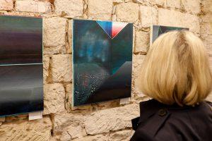 Bei der Betrachtung dreier Kunstwerke von Stefan Lenke.