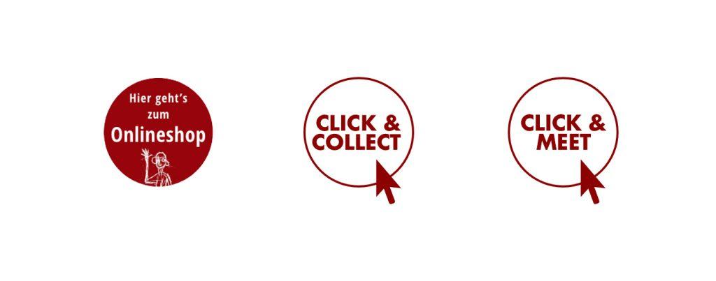 Click & Collect, Click & Meet und Onlineshop, die Möglichkeiten in diesen Tagen bei art+form zu stöbern.