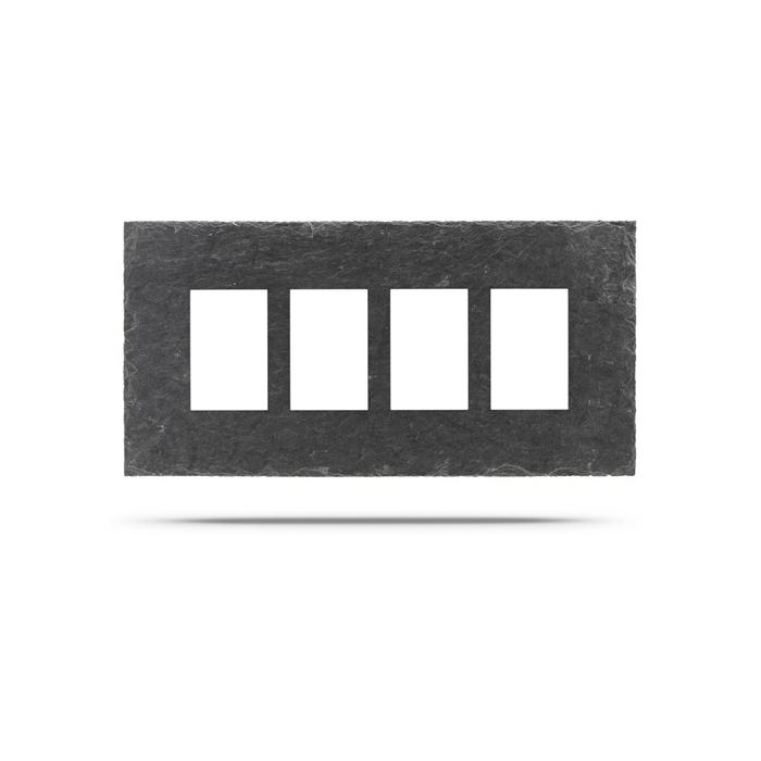 bilderrahmen schiefer 4 fotos 10x15 cm 61 95. Black Bedroom Furniture Sets. Home Design Ideas