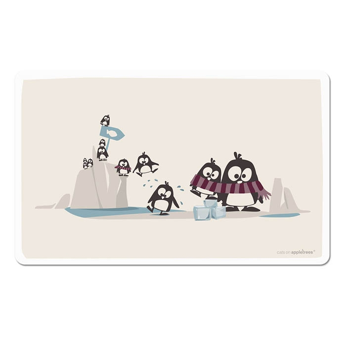 fr hst cksbrettchen pinguine 8 95. Black Bedroom Furniture Sets. Home Design Ideas