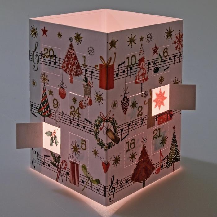 leuchtender adventskalender eine sch ne adventszeit 3 95. Black Bedroom Furniture Sets. Home Design Ideas