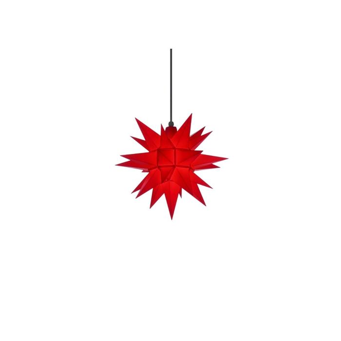 original herrnhuter stern f r au en ca 40 cm rot. Black Bedroom Furniture Sets. Home Design Ideas
