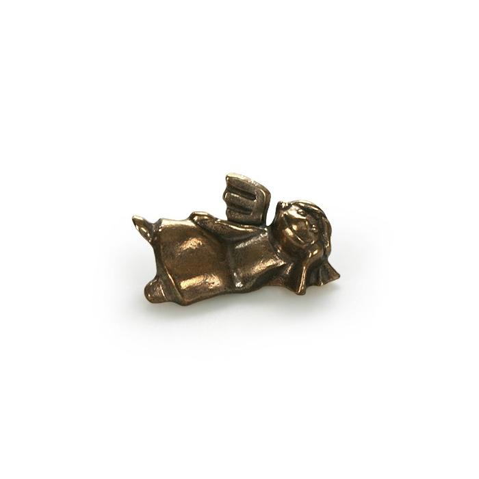 schutzengel aus bronze liegend 22 95. Black Bedroom Furniture Sets. Home Design Ideas