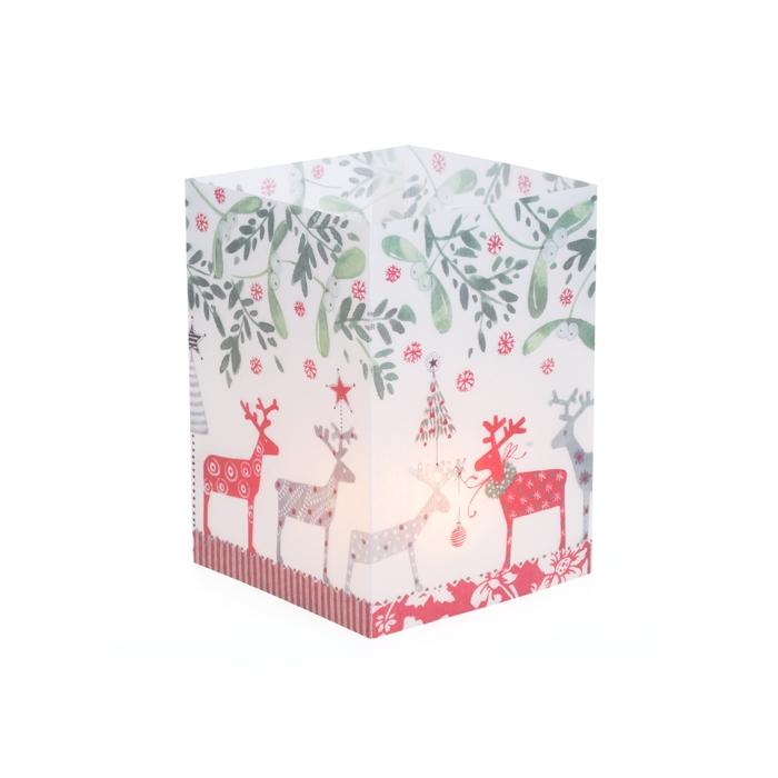 teelicht weihnachtskarte klappkarte eine fr hliche weihnac. Black Bedroom Furniture Sets. Home Design Ideas