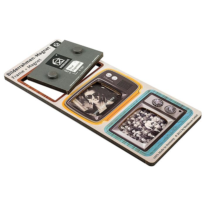 werkhaus bilderrahmen magnet fernseher 3er set 9 90. Black Bedroom Furniture Sets. Home Design Ideas