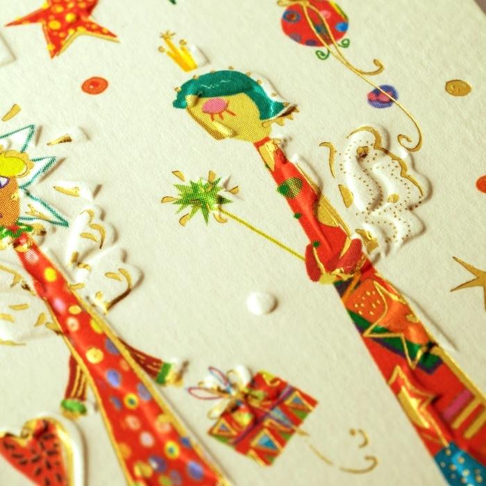 weihnachtskarte klappkarte 6 engel frohe weihnachten 3. Black Bedroom Furniture Sets. Home Design Ideas