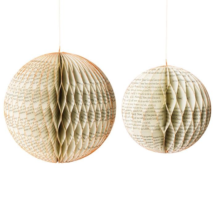 weihnachtskugeln aus papier bastelanleitung woman at glitzernde weihnachtskugeln aus papier. Black Bedroom Furniture Sets. Home Design Ideas