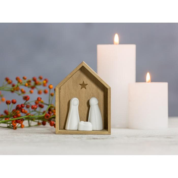 r der winterzeit kleine krippe 19 95. Black Bedroom Furniture Sets. Home Design Ideas