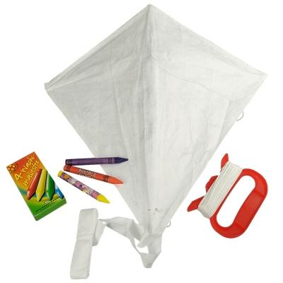 drachen zum selbstgestalten creative kite diamant 9 95. Black Bedroom Furniture Sets. Home Design Ideas