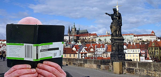MOLESKINE in Prag