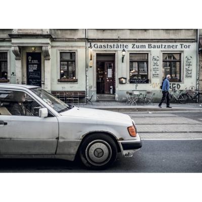 neustadtspaziergang postkarte tor-mercedes, 1,20 €