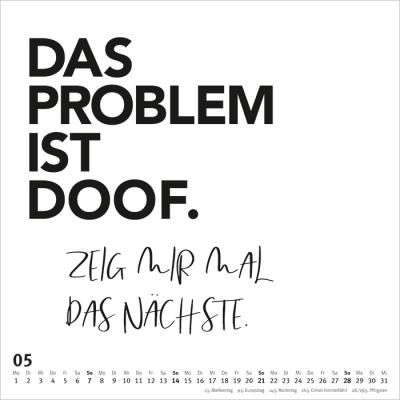 Kalender Spruche Im Quadrat 2019 10 00