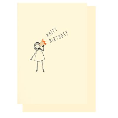 Geburtstagskarte Klappkarte Happy Birthday Pencil Shaving Card 3 95