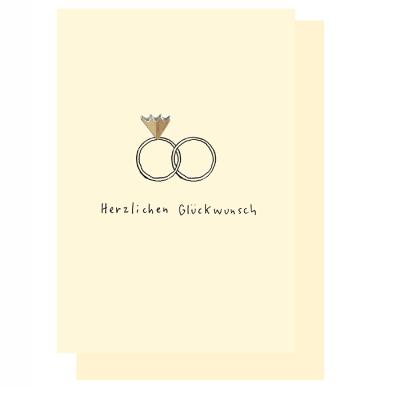 Hochwertige Gluckwunschkarten Zur Hochzeit Bei Art Form