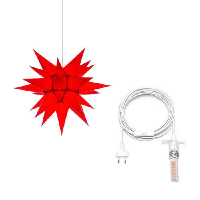 herrnhuter stern papier 40 cm innen kabel bei art form 39. Black Bedroom Furniture Sets. Home Design Ideas