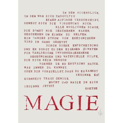 Poster MAGIE - Adele Todemann nach Goethe, 29,00 €