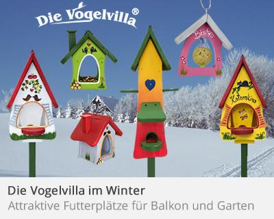 Die Vogelvilla im Winter
